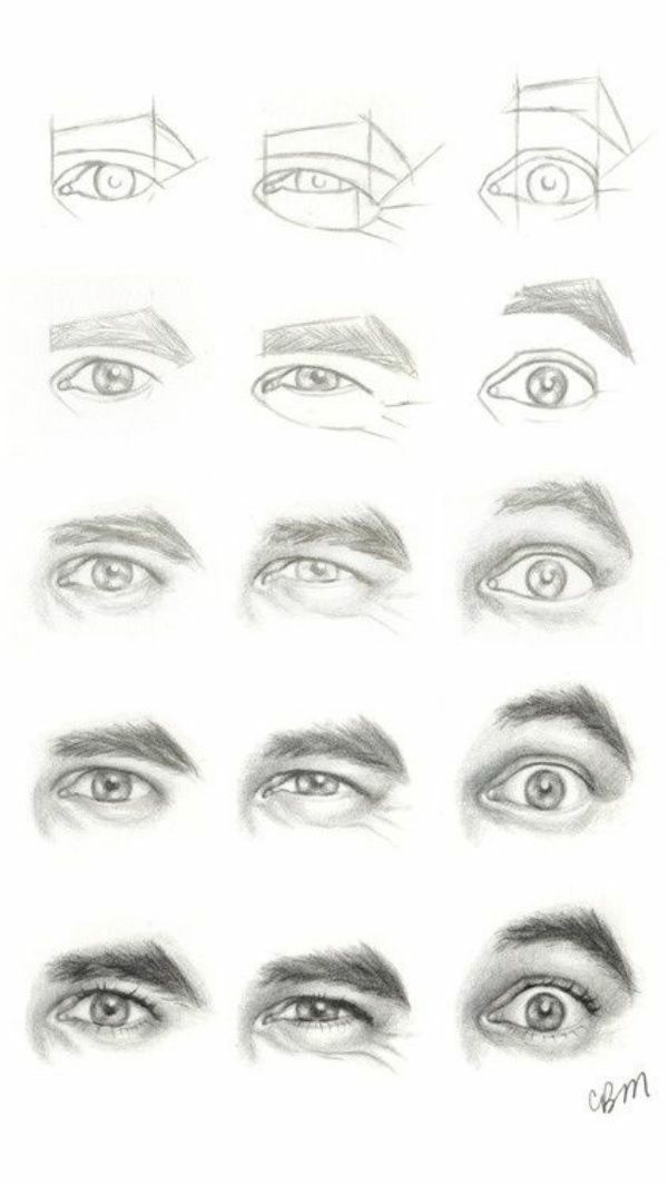 Pencil Drawing Step by Step Eye Drawings (Realistic and Colorful #realisticeye