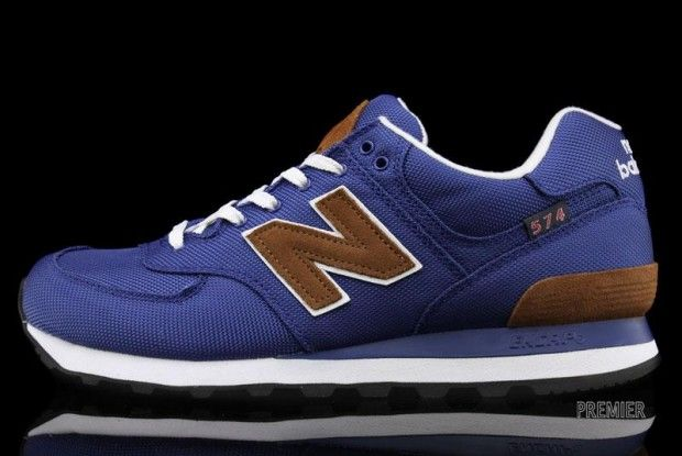 premium selection 9987d 89fb2 New Balance 574 Blue/Brown | Fashion Men | New balance, New ...