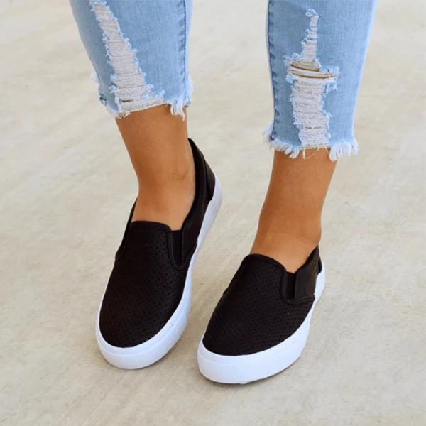 Vicsrack Slip On Running Flat Sneakers