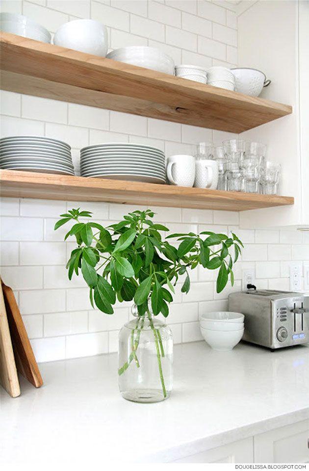 Repisas para cocina 15 buenas soluciones Repisas, Repisas de - estantes para cocina