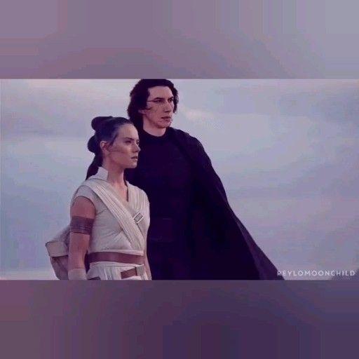 Rey and Kylo Ren together