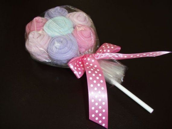 Sweet Treats Flower Lollipop by gigglebugbaby1 on Etsy, $9.50