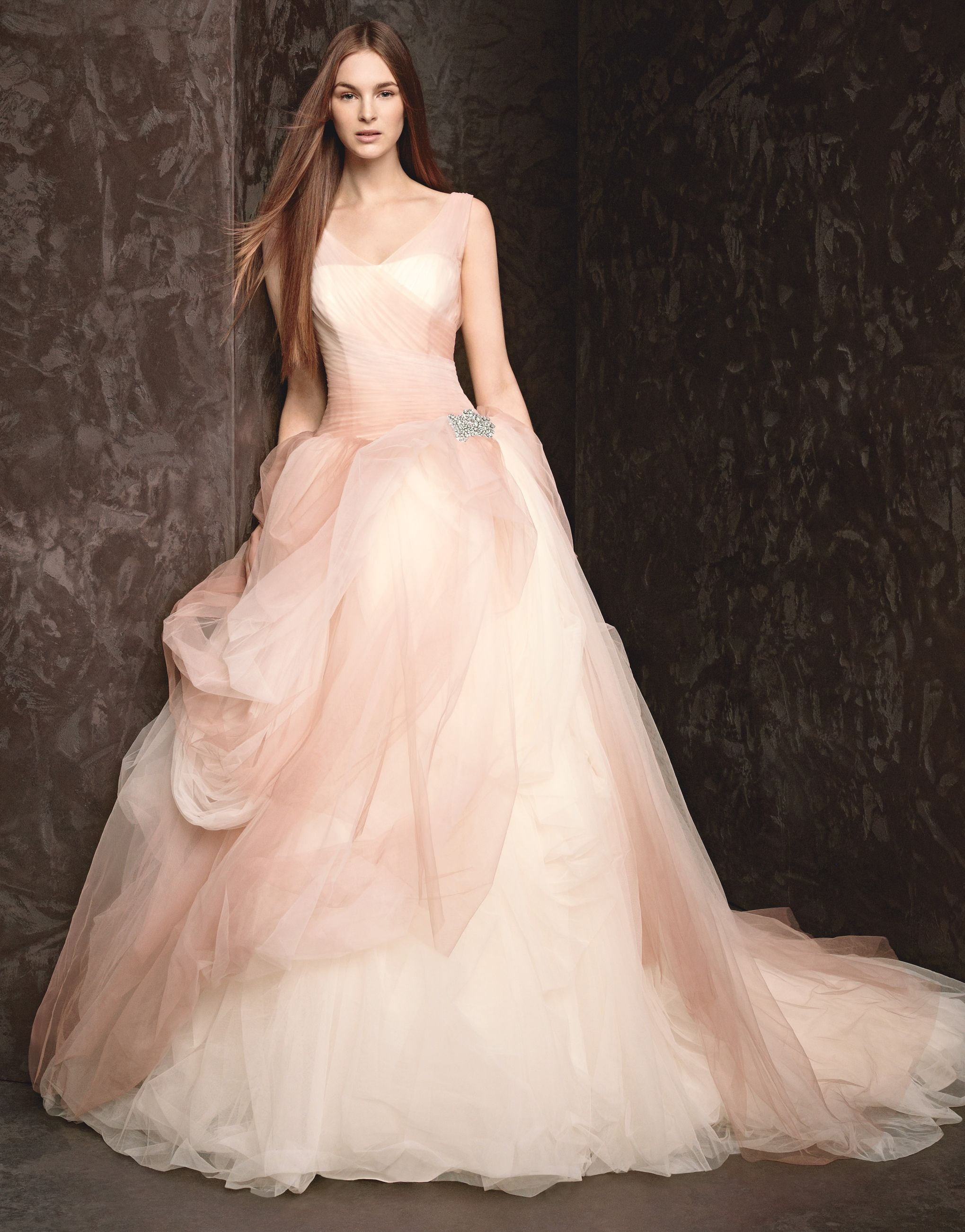 say yes to the dress pink floral mermaid dress | wedding dress, pink ...