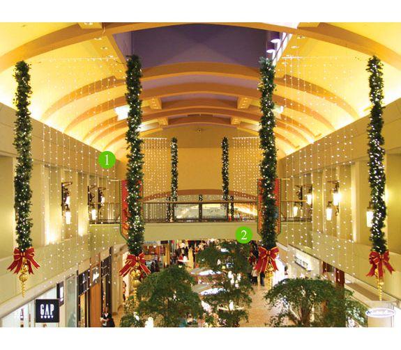 Orlando Home Decor Stores: Malls Portfolio - Mall Christmas Decorations
