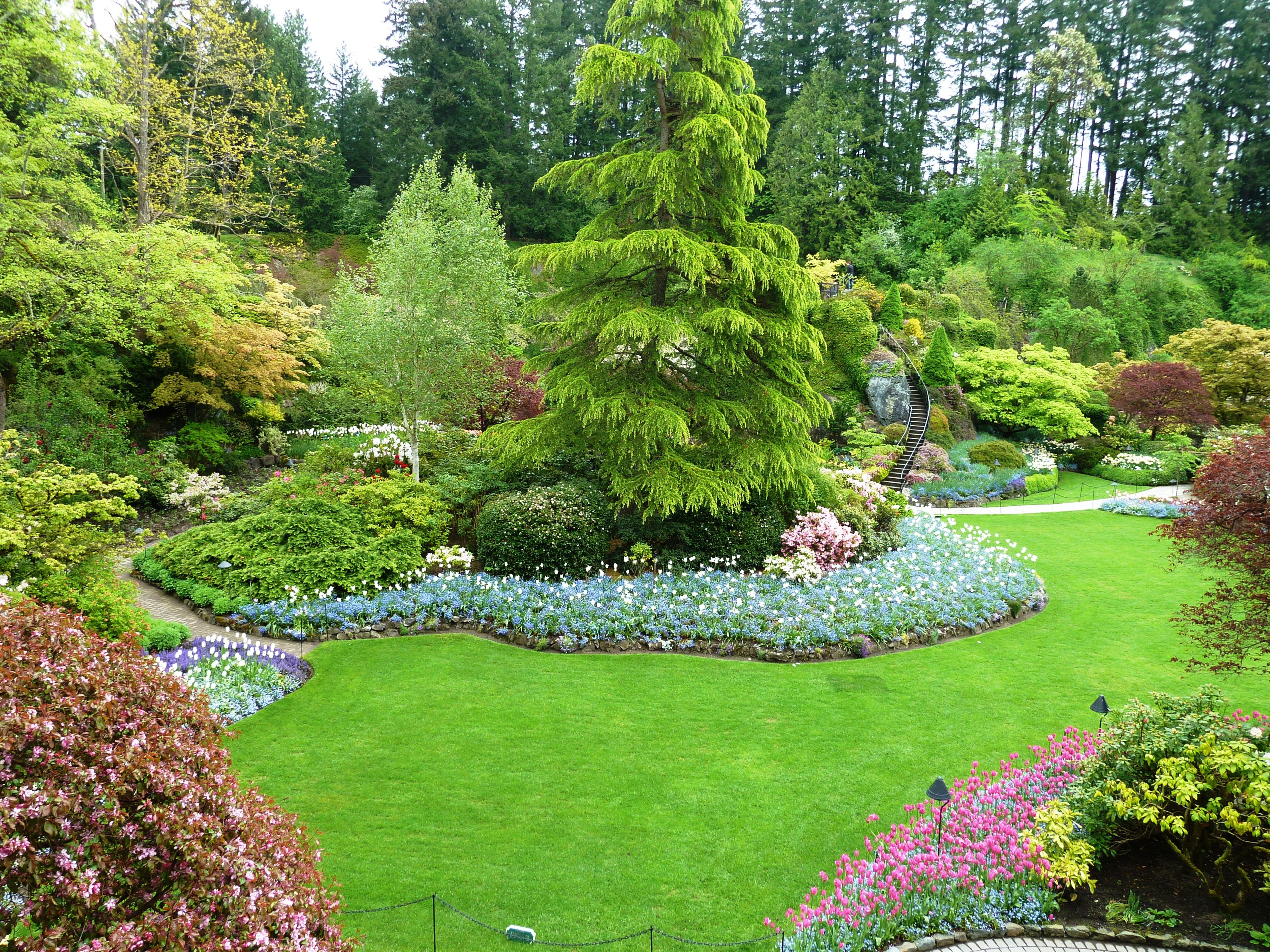 Fotos de grandes jardines buscar con google ideas para for Ideas para jardines de campo