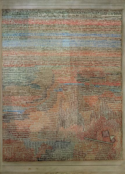 paul klee VOCAL FABRIC OF THE SINGER ROSA SILBER classic art poster 24X36