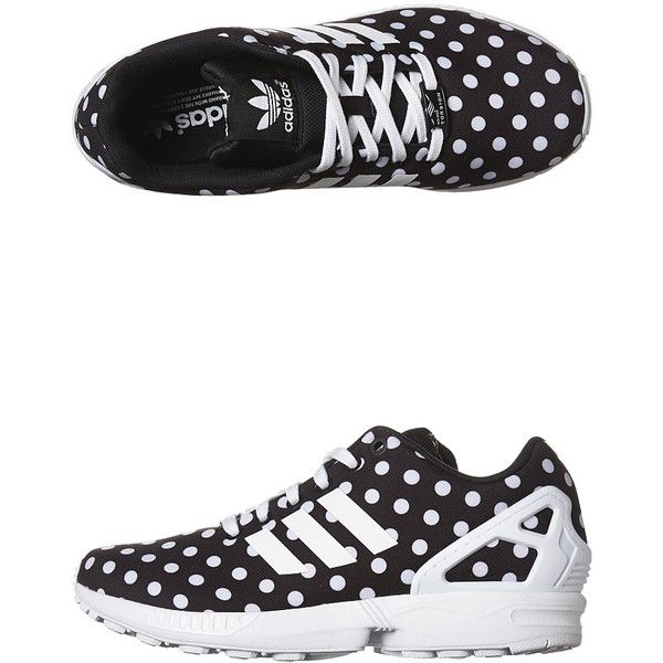 promo code f1d6d 96284 Adidas Originals Zx Flux Womens Sneaker (70) ❤ liked on Polyvore featuring  shoes,