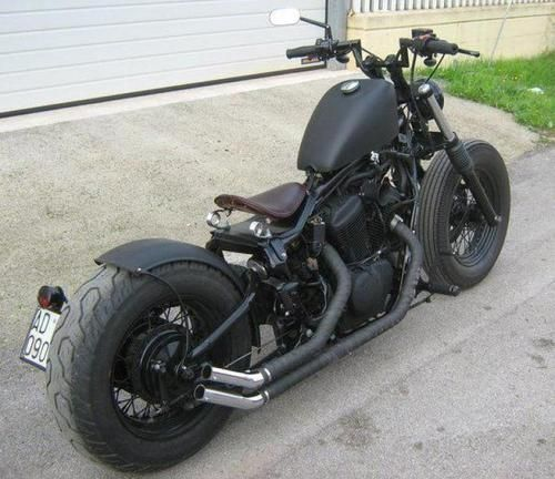 Honda Vt600 Vlx Custom With Solo Seat Ed Out