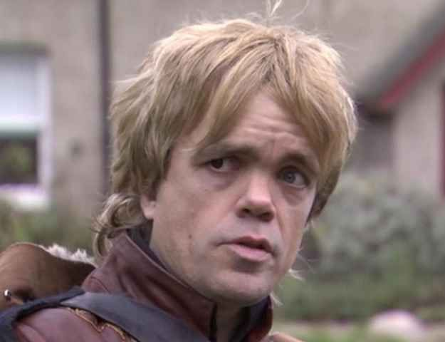Image result for blond tyrion
