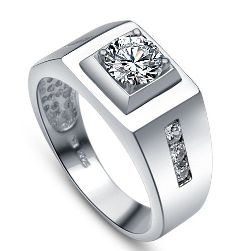 Wedding Rings For Men India: Free Drop Shipping-wholesale Men Jewelry,fashion Sterling