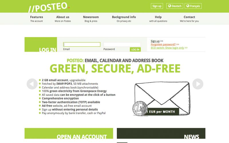 Worlds Best Secure Email Providers | Design Info | Email