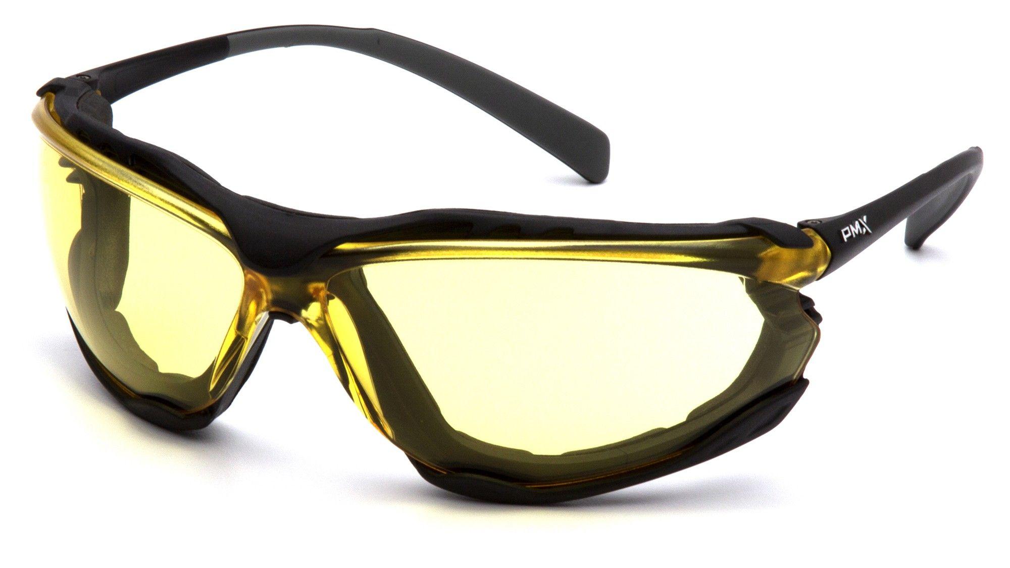 Pyramex SB9330ST Proximity Safety Glasses Black Frame