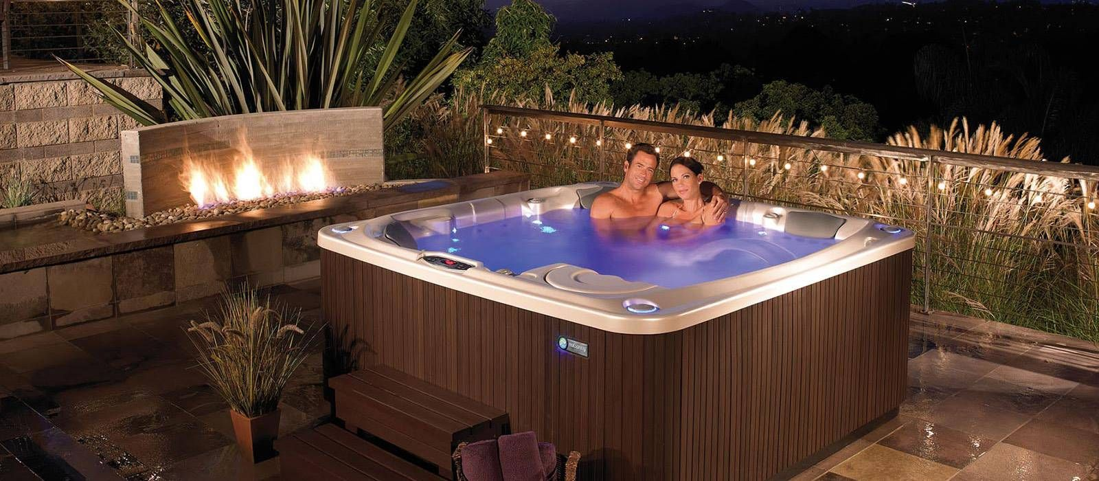 hot tubs landscape ideas backyard hot tub designs hot spring spas - Hot Tub Design Ideas