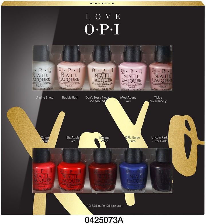 Perfect Christmas Present Opi Products Inc Opi Love Xoxo