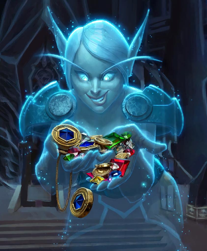 Card Name Spectral Pillager Artist Sam Nielsen Warcraft Art