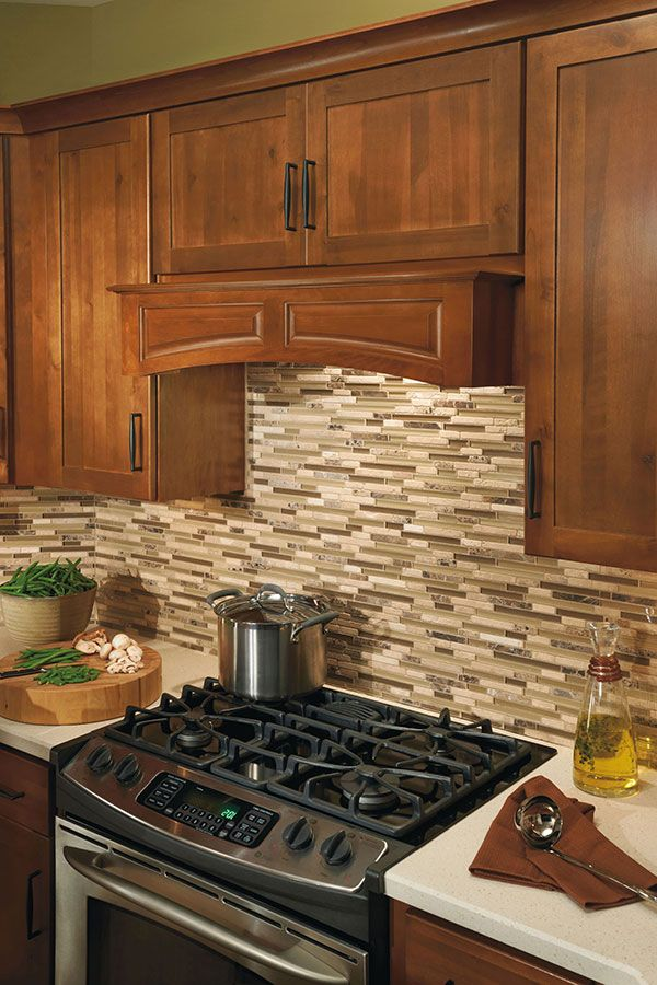 Our Canopy Wood Hood Arched Adds A Strong Yet Graceful Touch To Your Cooktop