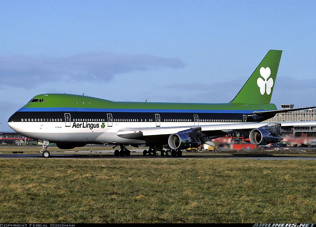 Aer Lingus 747 With Images Boeing 747 Boeing Passenger Aircraft