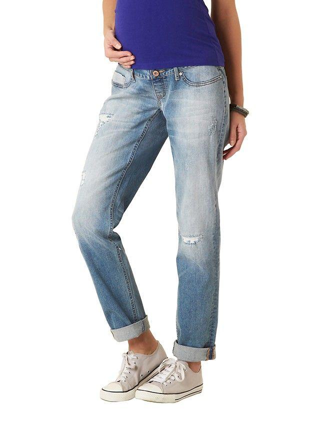 'Gia'+Maternity+Boyfriend+Jeans+-+