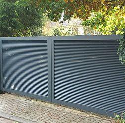 Zäune, Gartenzaun, Zaun, Tor, Tore aus Aluminium | Draußen Garten in ...