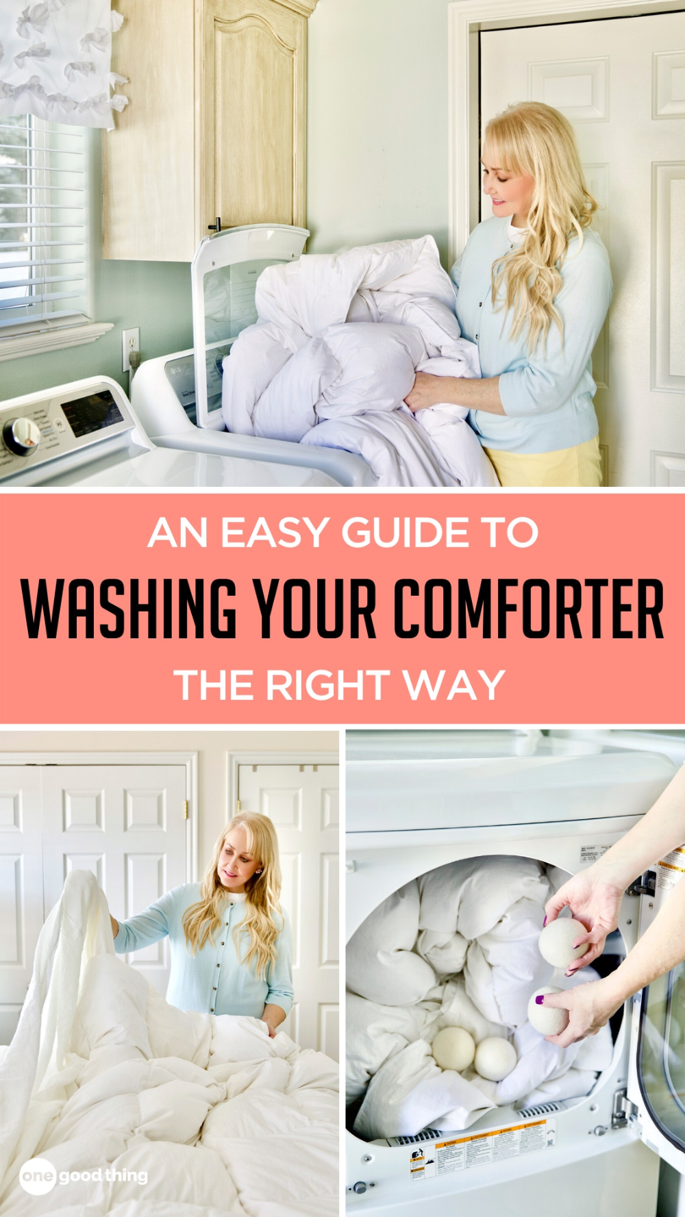 How To Wash Your Down Comforter