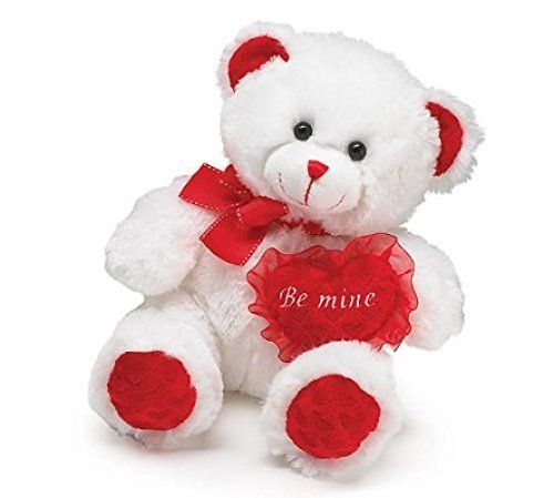 Plush Valentine Bear - With Love Home Decor