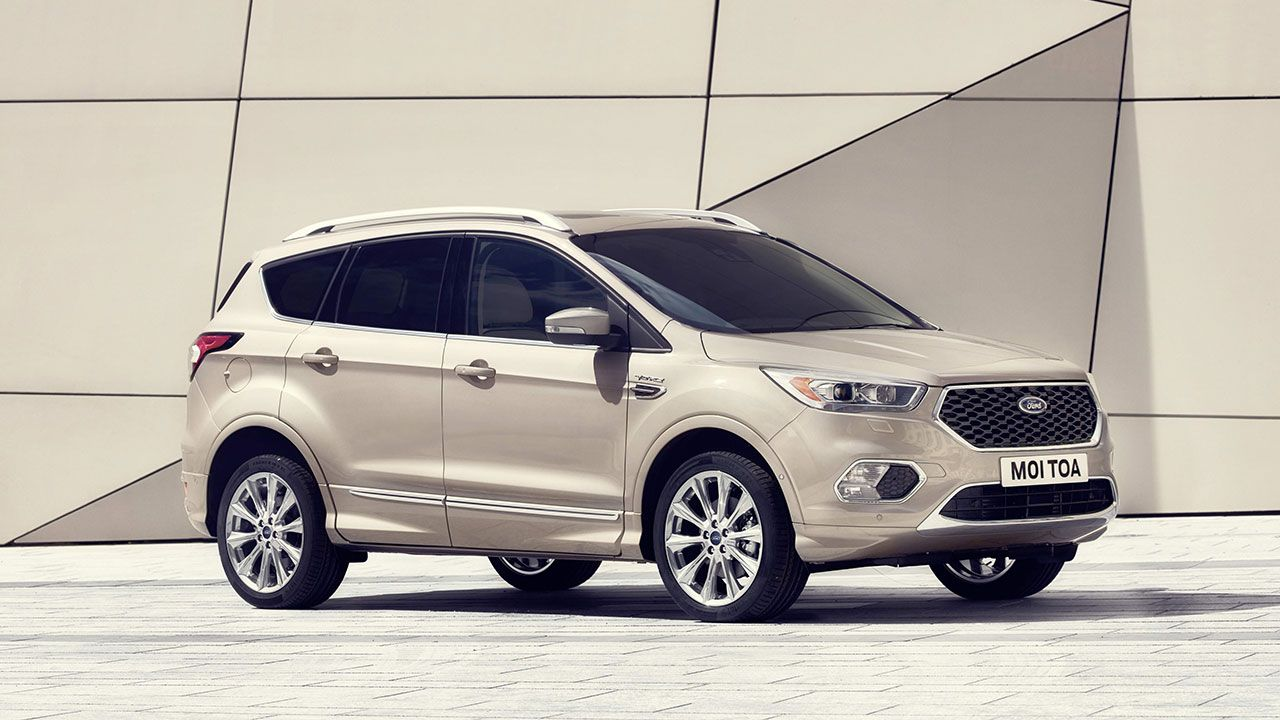 Upscale New Ford Kuga Vignale And Ford Edge Vignale Meet Growing Consumer Demand For More Luxurious