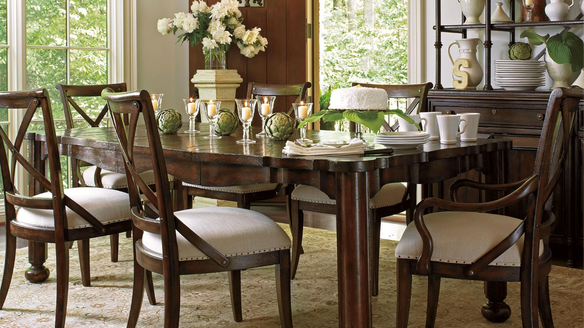 Stanley Dining Room Sets Lovely Arrondist Famille Traditional Set By Furniture