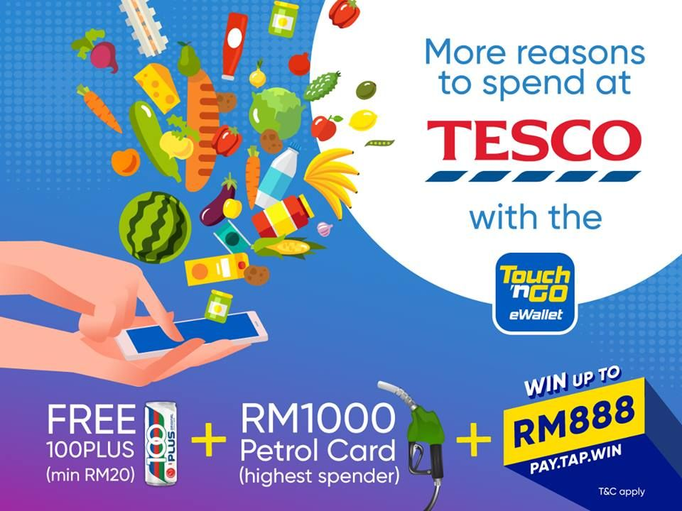 Tng Ewallet At Tesco How To Apply Touch Cards