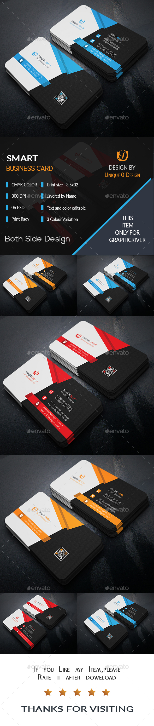 Smart Business Card - Business Cards Print Templates | Business Card ...