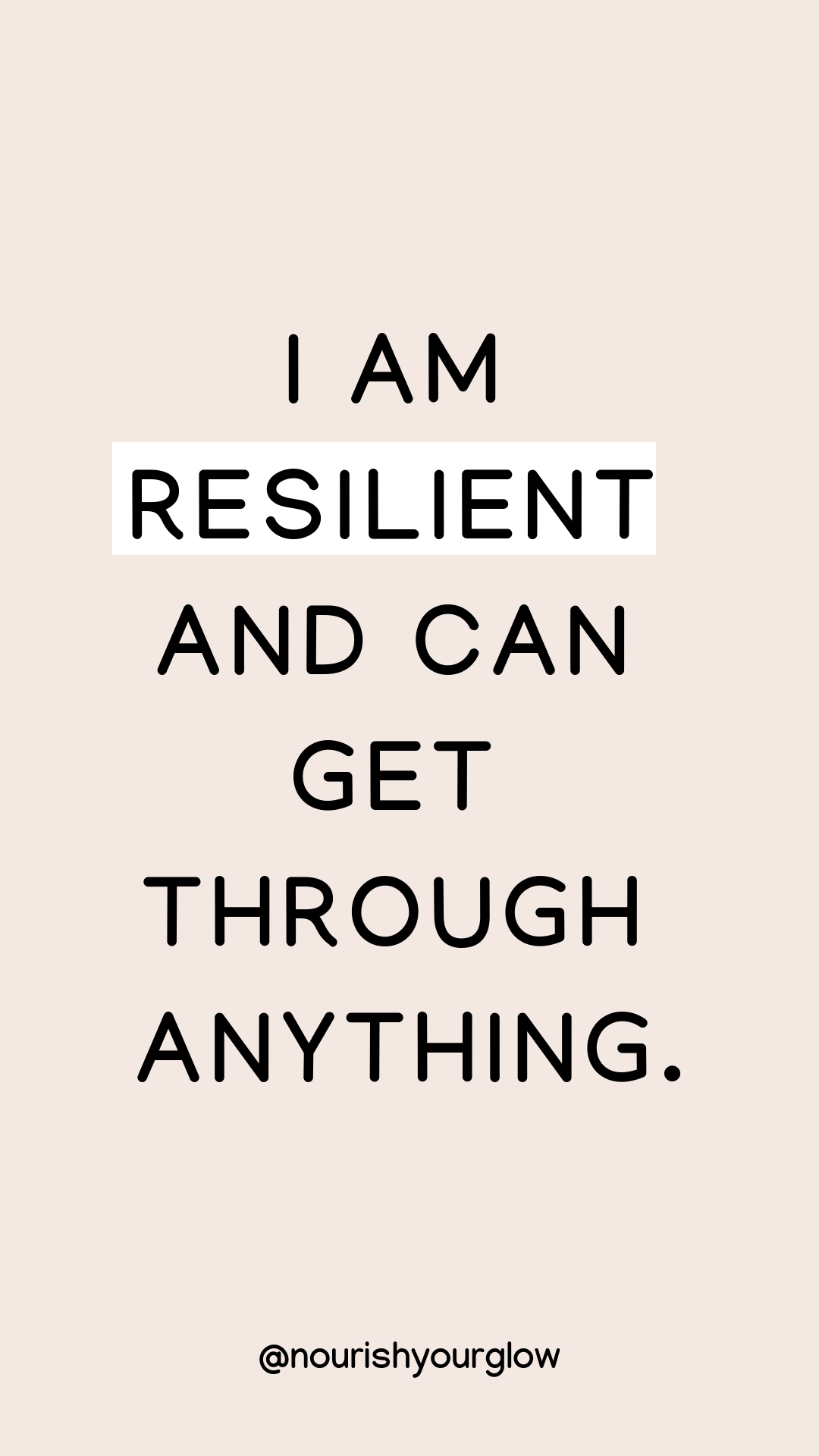 Favourite Daily Affirmations for a more Positive Mindset - Nourish Your Glow
