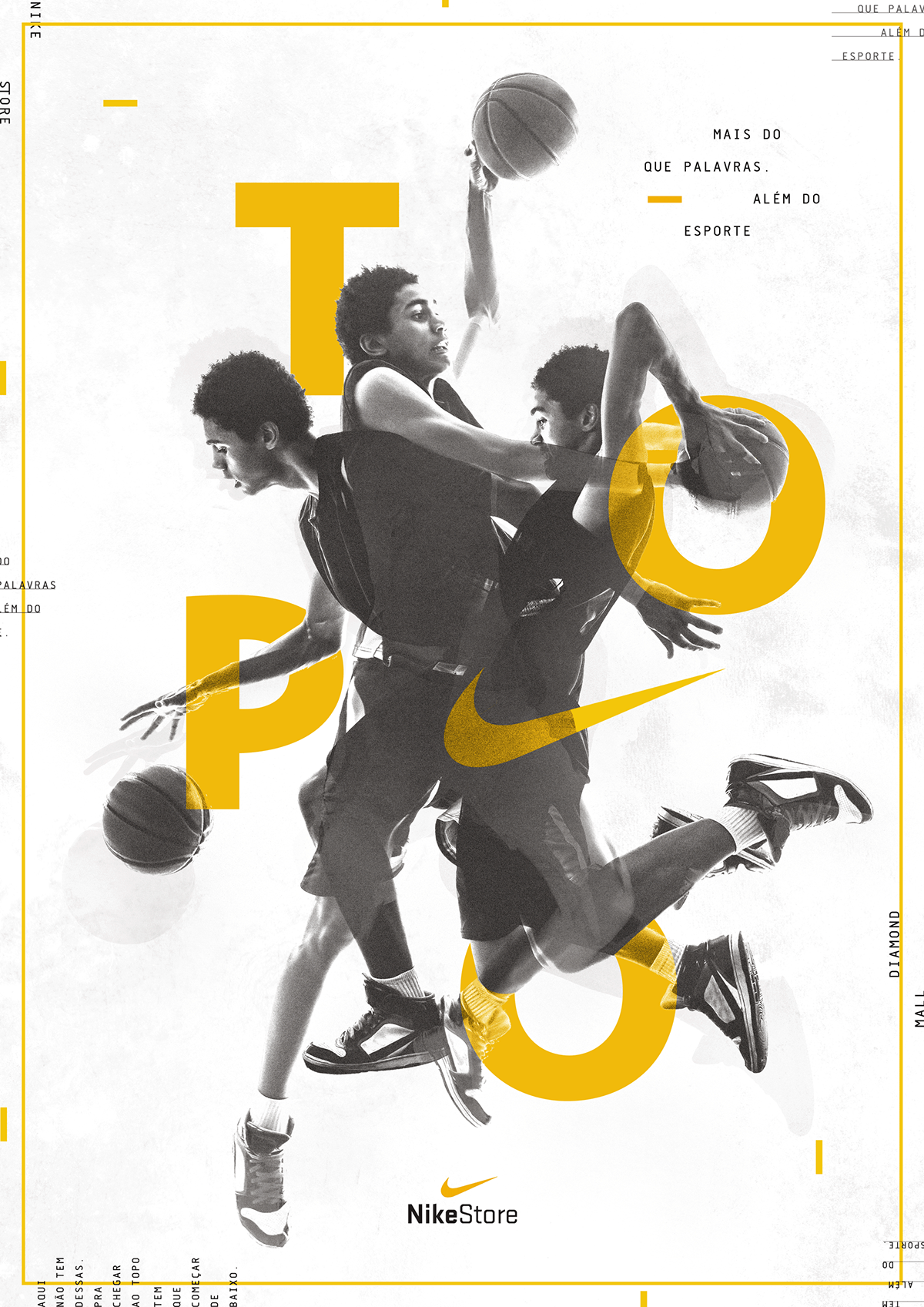 Nike Store - Poster Series on Behance | SPORTS | Sports ...