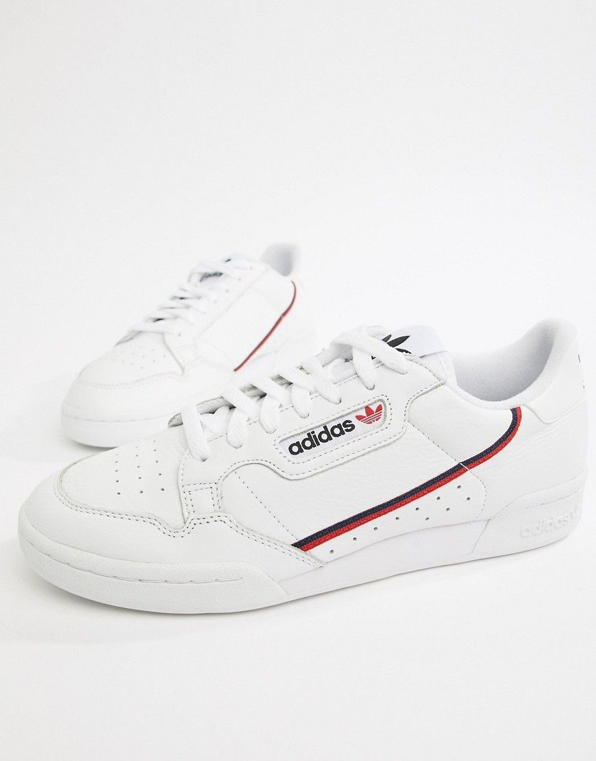 Continental 80 Grosgrain-trimmed Textured-leather Sneakers ...