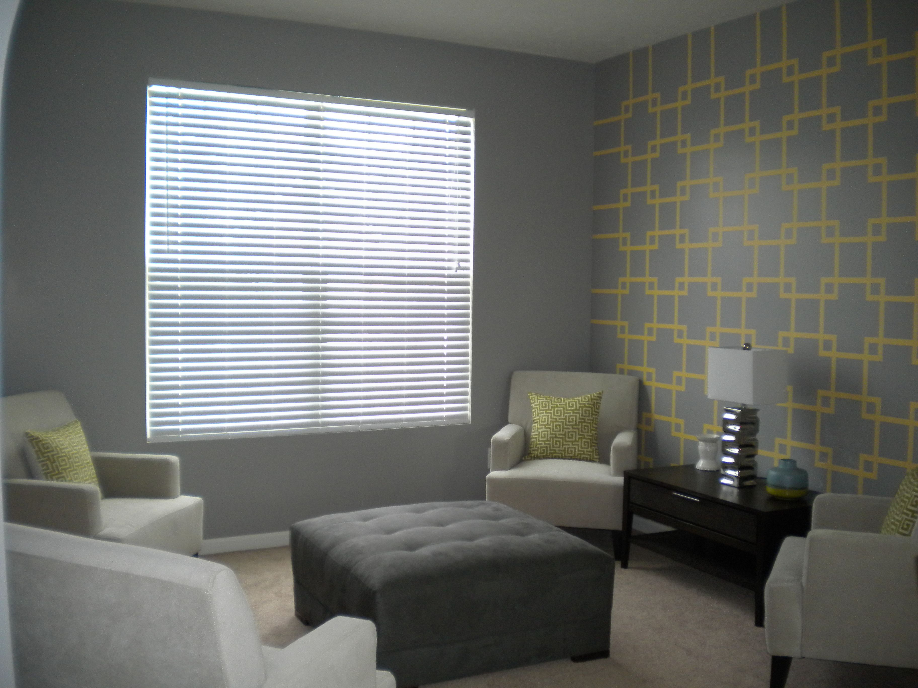 wall design using painters tape | ∙ Our House ∙ | Pinterest ...