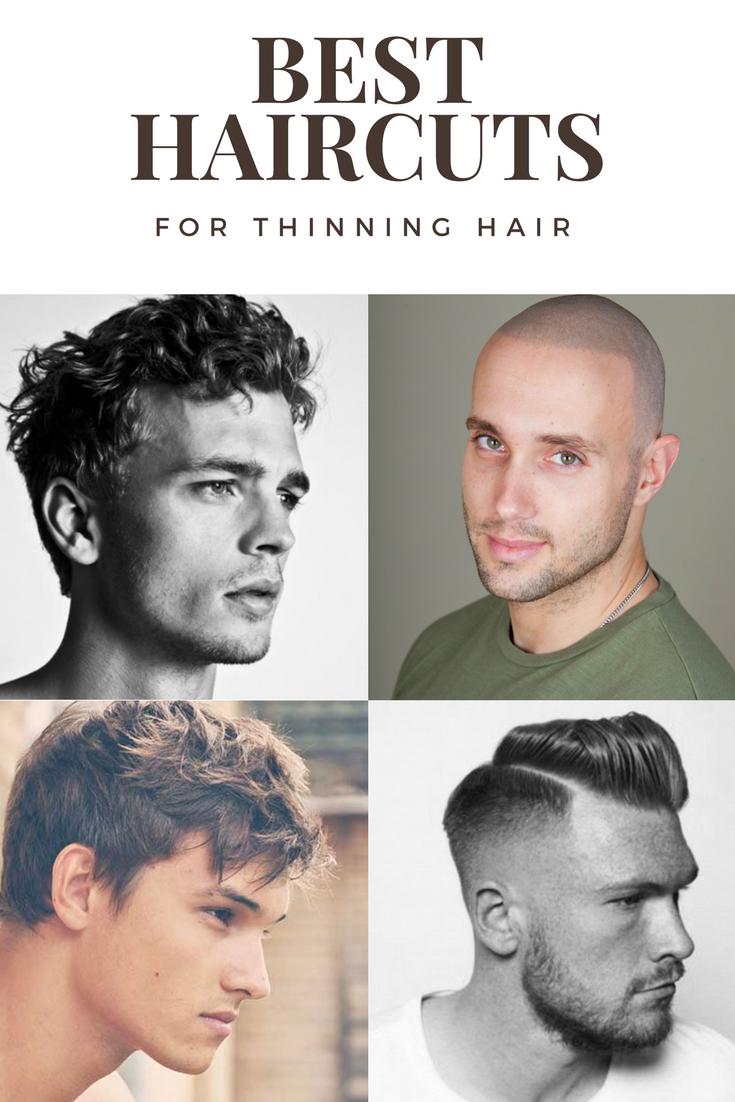 Best Haircuts For Balding Men Hair Loss Help Pinterest Hair