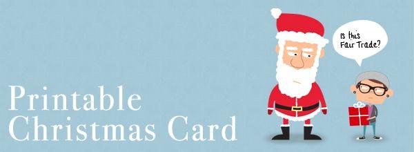 Free Printable Christmas Cards  Free Printable Christmas