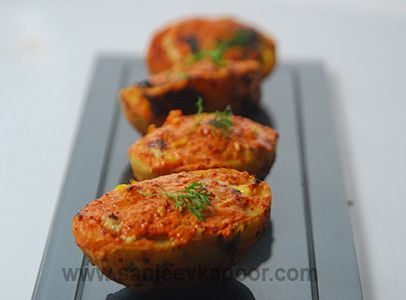 Tandoori aloo boat sstw june pinterest boating sanjeev tandoori aloo boat convection cookingsample resumesanjeev kapoorboating indian forumfinder Images