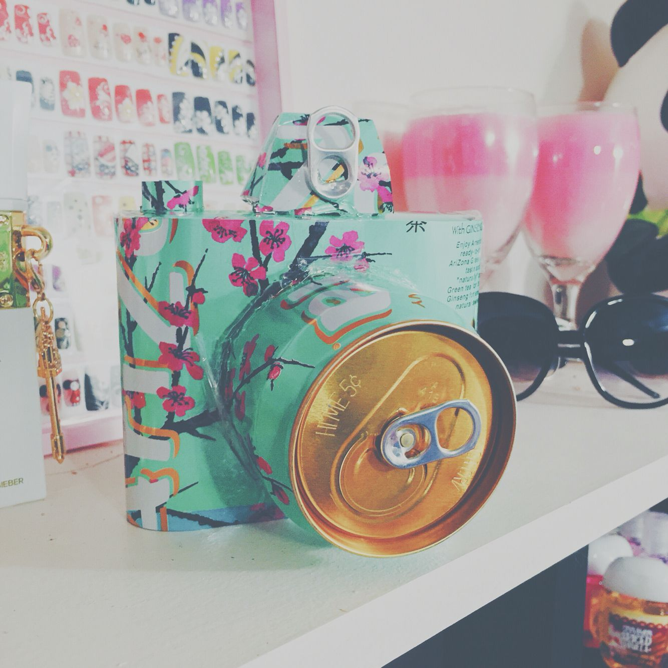 Tumblr Inspired DIY camera made out of Arizona cans | DIYs ...