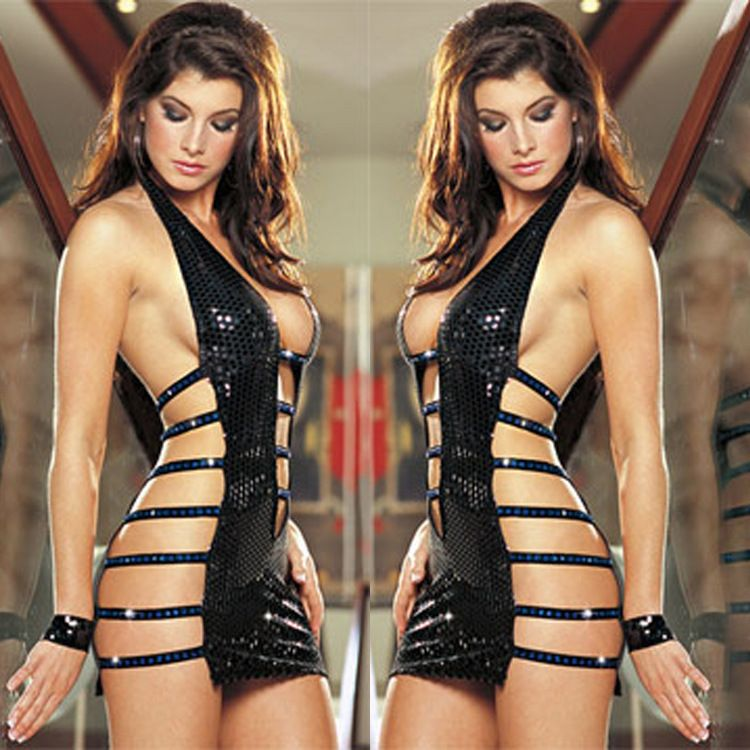 S sexy lingerie lure sexy full lace women open crotch revealing milk sex appeal pajamas