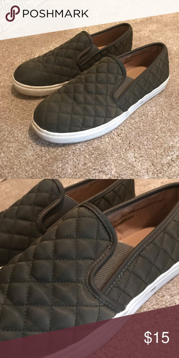 Target Mossimo Quilted Slip On Sneakers