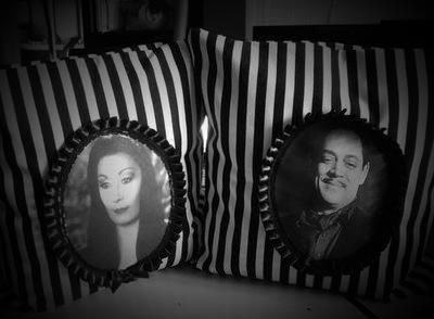 Addam's Family pillows
