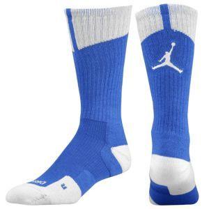 Jordan AJ Dri-Fit Crew Sock - Men's - Basketball - Accessories - Game Royal/White