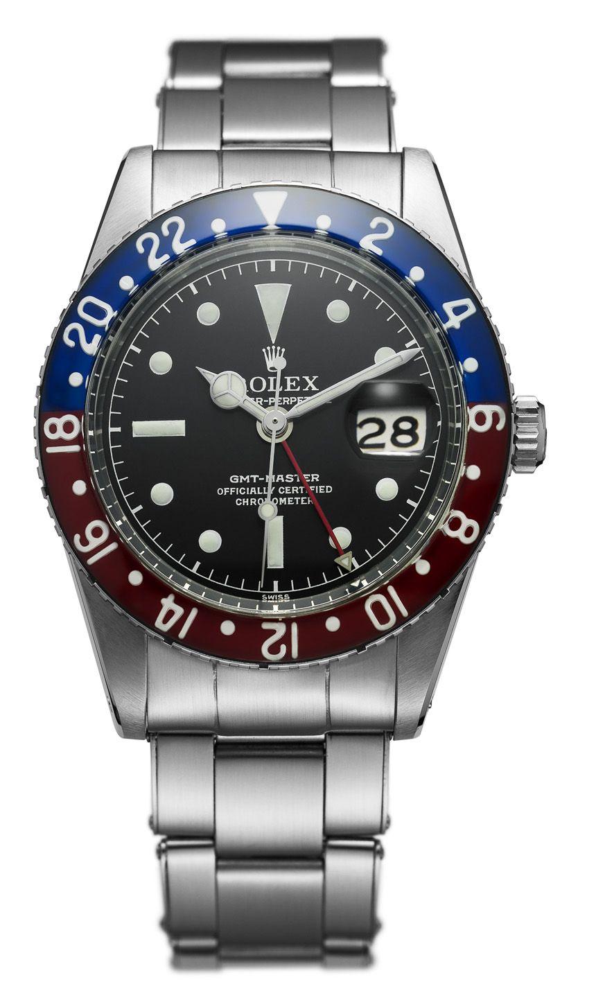 Rolex GMT 손목 시계, 남성용 시계, 시계