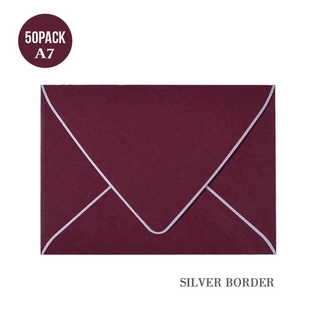 A7 pink envelopes 5 x 7 v flap quick self