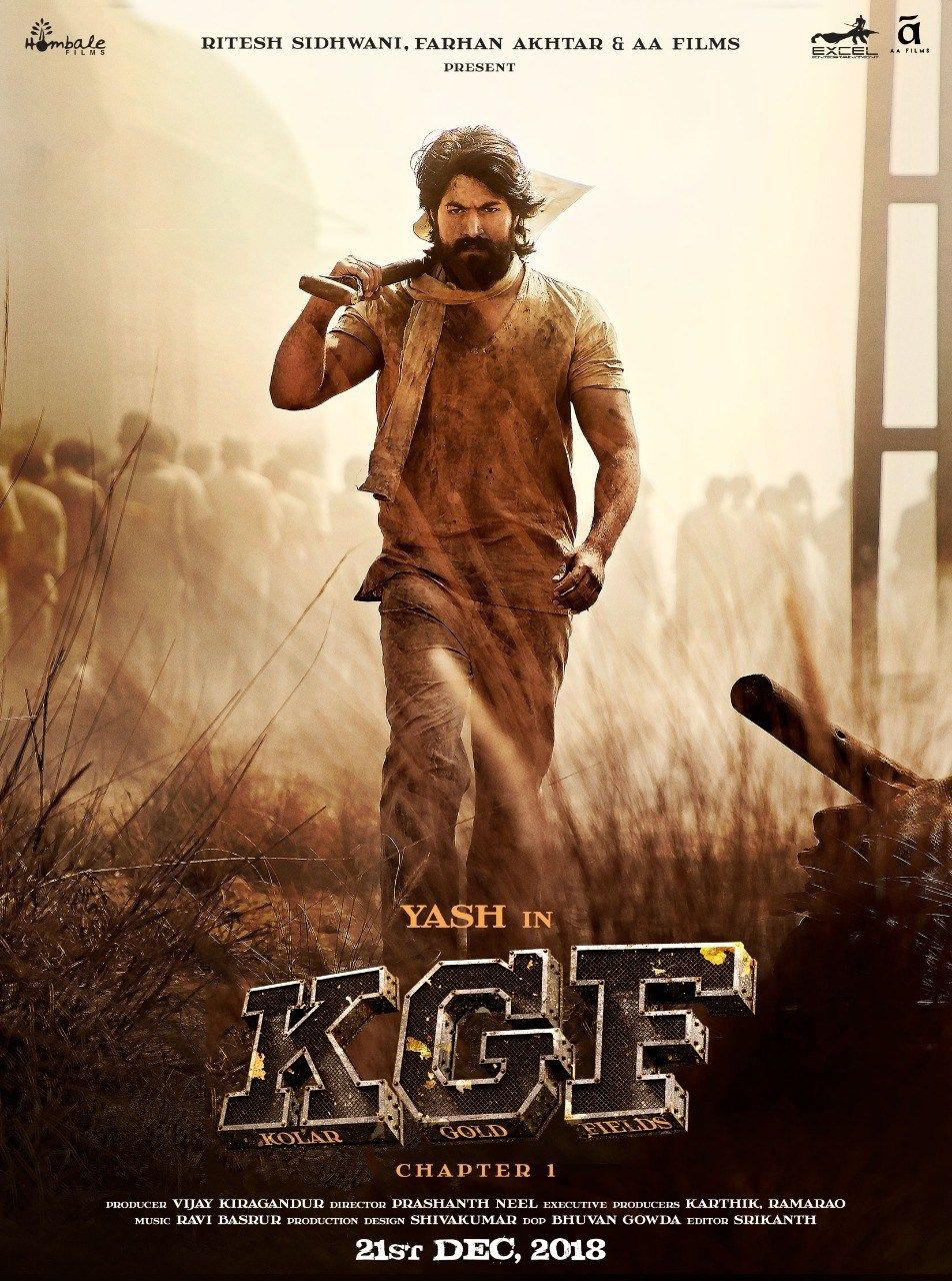 K.G.F Chapter 1 (2018) Hindi Dubbed Movie Watch Online