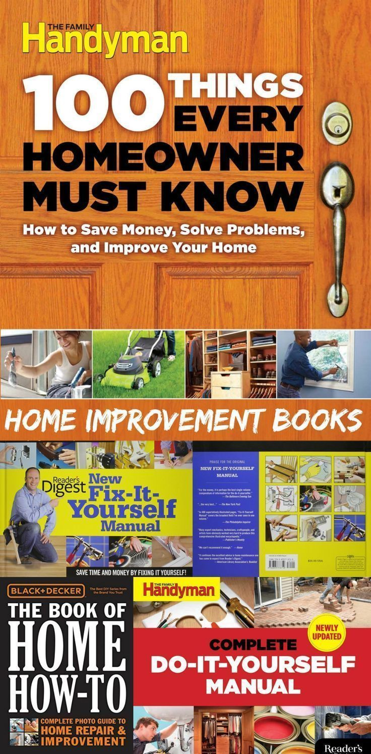 Best home improvement and diy handyman books you can find check out best home improvement and diy handyman books you can find check out these books and solutioingenieria Gallery
