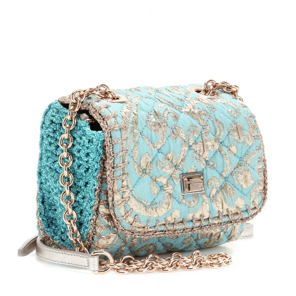 Dolce   Gabbana - JACQUARD QUILTED CLUTCH  79962883468