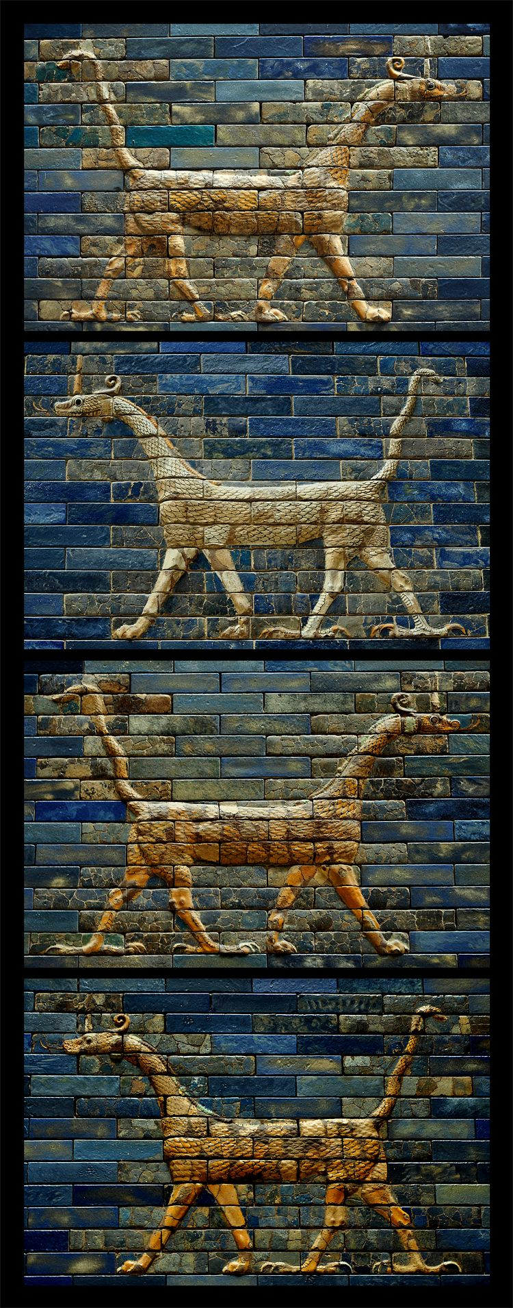Dragons Of Babylon Babylon Mythological Creatures Dragon