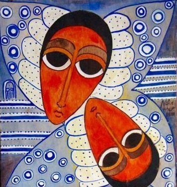 Ethiopian scroll, modern
