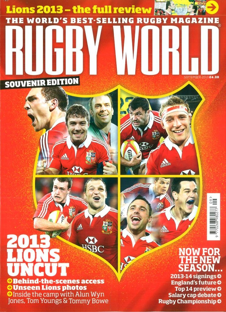RUGBY WORLD Rugby, Magazine, Rugby championship