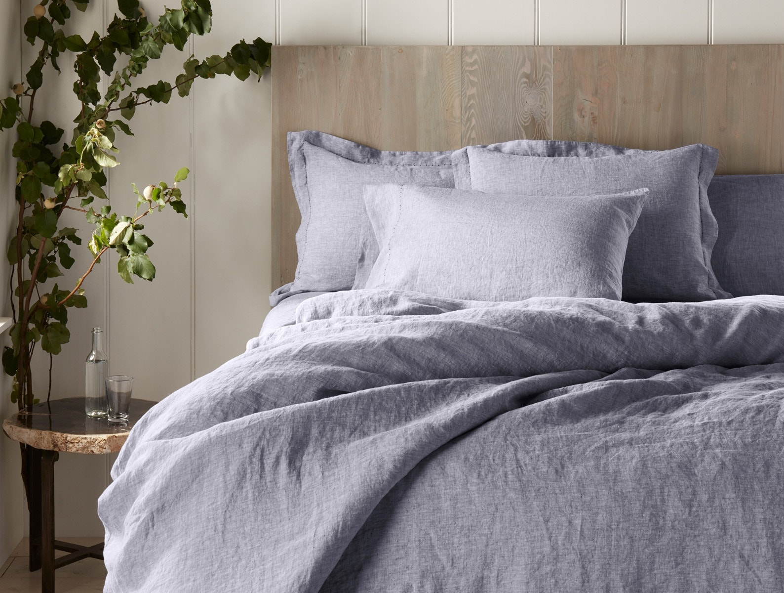 Organic Relaxed Linen Duvet Cover Bedding sets, Bed, Bed